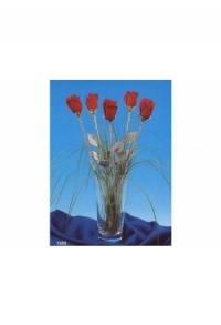 Rote Rose (Handguss)